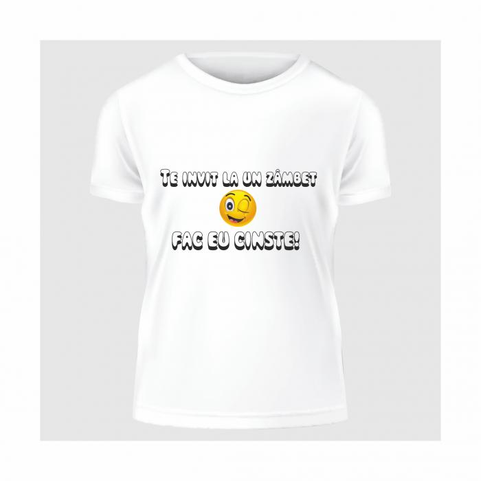 Tricou Zâmbet 0